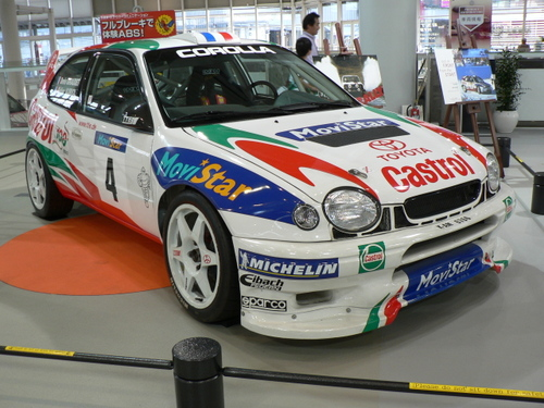 モータースポーツジャパン2006 Megawebにあったカローラwrc
